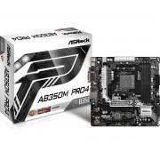 Asrock AB350M Pro4 AMD B350 Socket AM4 Micro ATX motherboard