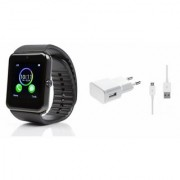 MIRZA GT08 Smart Watch Mobile Charger for SAMSUNG GALAXY A 7