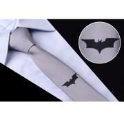 Cravata barbati gri model liliac