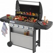 campingaz 2000015641 Barbecue A Gas Da Esterno Bbq Da Giardino 78x45 Mm Con Coperchio E Ruote Colore Nero / Grigio - 2000015641 - 4 Series Classic L