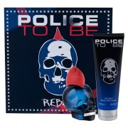 Police To Be Rebel confezione regalo eau de toilette 75 ml + doccia gel 100 ml Uomo