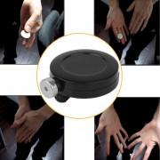 ER Trucos De Magia Dinero Coin Desaparecen Herramientas De Dispositivo De Fuga Juegos Truco Props - Negro