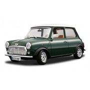1969 Mini Cooper, Green - Bburago 12036 - 1/18 scale Diecast Model Toy Car