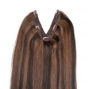 Rapunzel® Extensions Naturali Easy Clip-in Original M2.3/5.0 Chocolate Mix 50 cm