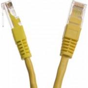 Cablu UTP DBX Patchcord Cat 5e 3m Galben