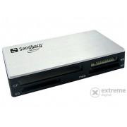Cititor de card Sandberg Multi Card Reader USB3.0, argintiu-negru