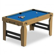 Riley NCPRS-5 Billiard Pool Table Foldable 153 x 18 x 94cm