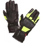 Modeka Tacoma Motorcycle Gloves Black Yellow XL