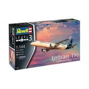 Plastica ModelKit Plans 03883 - Embraer 190 Lufthansa New Livery (1: 144)