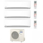 Panasonic Trial Standard Inverter Tz Cu-3re18sbe + 2 X Cs-Mtz7ske + Cs-Tz42tkew 7+7+15 Btu