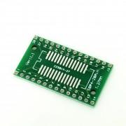 PCB Adaptor SOP28, SSOP28 și TSSOP28 către DIP