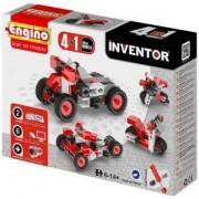 Конструктор Енджино Изобретател - 4 модела мотоциклети - Engino, 150002