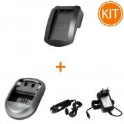 Kit Incarcator Power3000 pentru acumulator Nikon tip EN-EL9+ Bonus adaptor auto