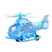 S S Traders - Helicopter Musical Toy - Blue