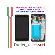 Riparazione Dispaly Lcd Touch LG E973 E975 Optimus G Cambio Touchscreen Schermo Rotto