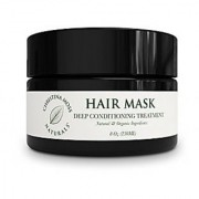 Deep Conditioner Hair Repair Treatment Mask For Damaged Dry Hair. Rescue Care Organic & 100% Natural For All Hair Types Women Men. Sulfate Free. No Harmful Chemicals. Christina Moss Naturals. 8oz.