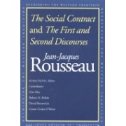Social Contract and the First and Second Discourses (Rousseau Jean-Jacques)(Paperback) (9780300091410)