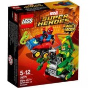 Конструктор Лего Супер Хироус - Mighty Micros: Спайдърмен срещу Скорпиона - LEGO Super Heroes, 76071
