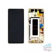 Display Cu Touchscreen Si Rama Samsung Galaxy Note 8 Original Auriu