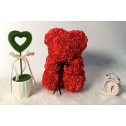 Rose-Covered 'My Forever Teddy' Bear - 2 Colours!
