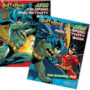 "DC Comics® Batman Coloring And Activity Book Set (Two 96-page Books) ""The Dynamic Duo"" and ""The Cha"