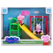 Peppa Pig Playground Fun - With Peppa Pig & Suzy Sheep, Slide And Swing