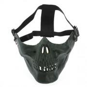 Bighub Sodial(R) Milit Skull Mask Half Protection Facial Masks Color:Green