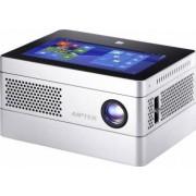 Videoproiector Portabil Aiptek iBeamBlock Deluxe 400 lumeni WXGA (tableta si baterie integrata)