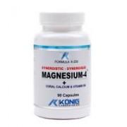 Magnesium-4 cu calciu coral si vitamina b6 90cps FORMULA K