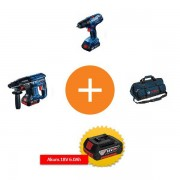 Set alata na promociji GBH 180-LI + GSR 180-LI + poklon u torbi Bosch