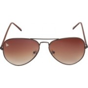 Adam Jones Aviator Sunglasses(Brown)