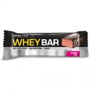 Whey Bar Low Carb Probiótica Sabor Morango 40g