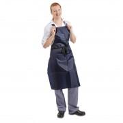 Whites Chefs Clothing Whites waterdicht schort blauw