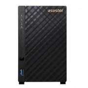 "NAS, Asustor AS3102TV2, 2-bay NAS, Intel N3050 (2.1G), 2GB DDR3L, 2x3.5"" SATAII/SATAIII, GbEx2, WoL, System Sleep Mode"