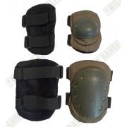 Chrániče na kolena + lokty OLIV sada