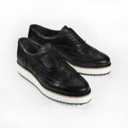 Apple of Eden instap-brogues, 36 - zwart