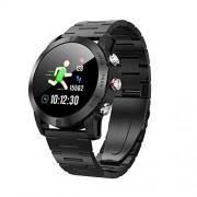 Docooler Reloj inteligente DTNO.I S10 de 1,3 pulgadas, IP68 impermeable, monitor de ritmo cardíaco, cuenta de pasos, reloj inteligente Steel Band AUY3648049272831GX