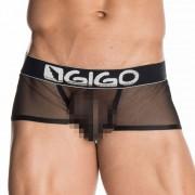 Gigo SHADOW BLACK Short Boxer Underwear G02131