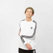 Adidas Junior 3 Stripes LS - Wit - Size: 164; male