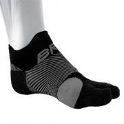 OS1st BR4 Bunion Relief Socks Svart