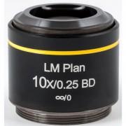 Motic Obiettivo LM BD PL, CCIS, LM, plan, achro, BD 10x/0.25, w.d.16.3mm (AE2000 MET)