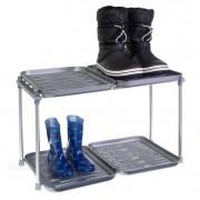 RUCO Schoenenrek en laarzenrek met 4 kunststof trays