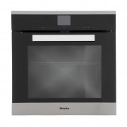 Miele PureLine H6660BP CleanSteel Single Built In Electric Oven - Stainless Steel