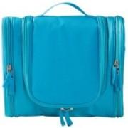 Swarish Travel Toiletry Bag Large Capacity cosmetic organizer Multi-functional Hanging Wash Bag Travel Toiletry Kit(Blue)