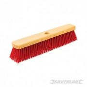 """Heavy-Duty PVC Broom - 460mm (18"""") 908556 5024763215315 Silverline"""