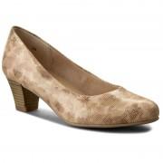 Обувки CAPRICE - 9-22306-28 Beige Comb 408
