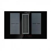 Klarstein Full House Down Air System, индукционен плот + абсорбатор, черен (CGCH3-FullHouse-Hood)
