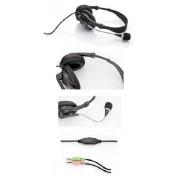 ESPERANZA Słuchawki z mikrofonem Esperanza EH115 PRESTO czarne