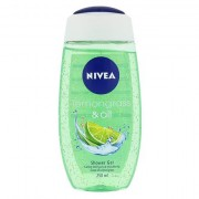 Nivea Lemongrass & Oil sprchový gel 250 ml pro ženy