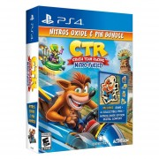 Crash Team Racing Nitros Oxide & Pin Bundle - Ps4 - Sniper